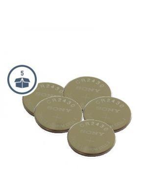 Somfy  Batterie CR2430 im 5er-Pack